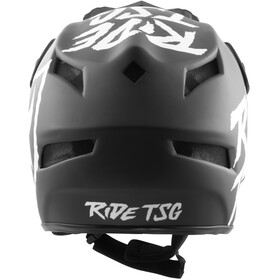 TSG Squad Graphic Design Casco Hombre, ripped black